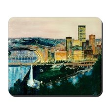 Pittsburgh at Dusk Mousepad