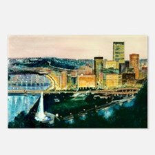 Pittsburgh at Dusk Postcards (Package of 8)