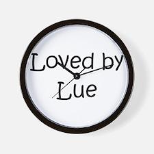 Unique Lue Wall Clock