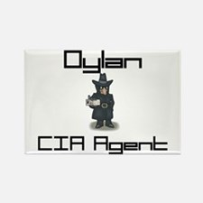 Dylan - CIA Agent Rectangle Magnet