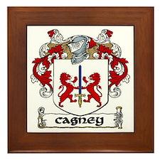 Cagney Coat of Arms Framed Tile