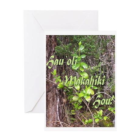 Hau`oli Makahiki Hou! Greeting Card