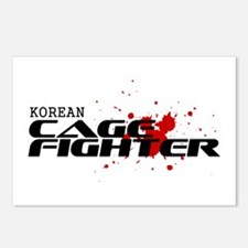 Korean Cage Fighter Postcards (Package of 8)