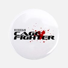 "Korean Cage Fighter 3.5"" Button"