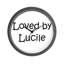 Funny Lucille Wall Clock