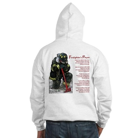 Firefighter Prayer Hooded Sweatshirt