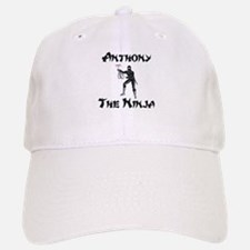 Anthony - The Ninja Baseball Baseball Cap
