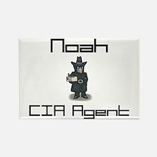 Noah - CIA Agent Rectangle Magnet