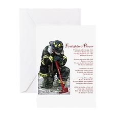 Firefighter Prayer Greeting Card
