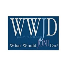 Magnet: WWJD - What Would Joni Do?