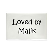 Cute Malik Rectangle Magnet