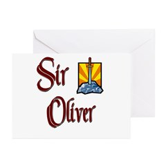 Sir Oliver Greeting Cards (Pk of 20)