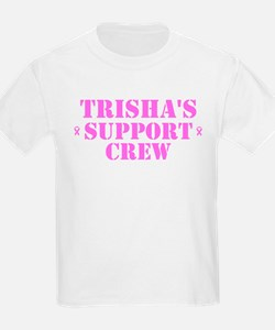 Trishs Support Crew T-Shirt