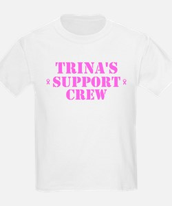Trins Support Crew T-Shirt