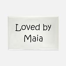 Unique Maia Rectangle Magnet