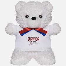 Lung Cancer Survivor 5 Years 1 Teddy Bear