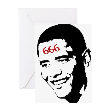 Mark of Barack Greeting Card