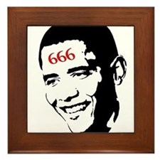 Mark of Barack Framed Tile