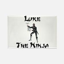 Luke - The Ninja Rectangle Magnet