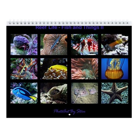 fish and things ii wall calendar by allenphotoart