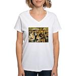 Moulin Women's V-Neck T-Shirt