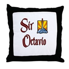 Sir Octavio Throw Pillow