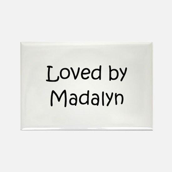 Cute Madalyn Rectangle Magnet