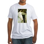 Symphony in White Fitted T-Shirt