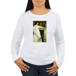 Symphony in White Women's Long Sleeve T-Shirt