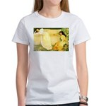 Symphony in White Women's T-Shirt