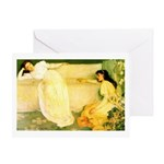 Symphony in White Greeting Card