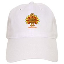 Thanksgiving Turkey Baseball Cap