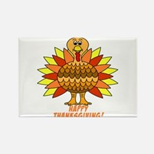 Thanksgiving Turkey Rectangle Magnet (10 pack)