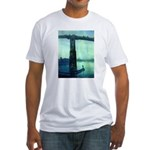Nocturne in Blue Fitted T-Shirt