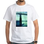 Nocturne in Blue White T-Shirt