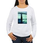 Nocturne in Blue Women's Long Sleeve T-Shirt