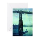 Nocturne in Blue Greeting Cards (Pk of 10)