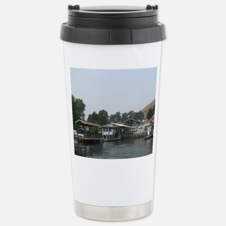 Helaine's Pit Stop Stainless Steel Travel Mug
