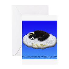 Kiki's Klowd Greeting Card