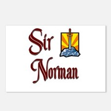 Sir Norman Postcards (Package of 8)