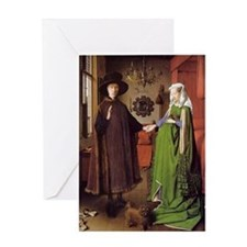 Arnolfini Wedding Greeting Card
