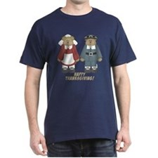 Thanksgiving Pilgrim Bears T-Shirt