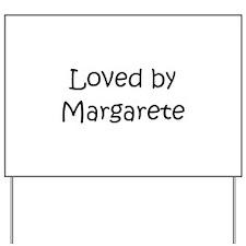 Unique Margaret Yard Sign