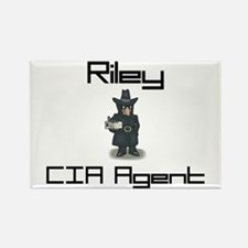 Riley - CIA Agent Rectangle Magnet