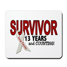 Lung Cancer Survivor 13 Years 1 Mousepad