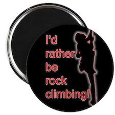 Rock Climbing Magnet