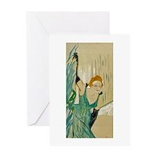 Yvette Guilbert Greeting Card