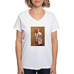 Half Naked Women Women's V-Neck T-Shirt