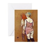 Half Naked Women Greeting Cards (Pk of 10)