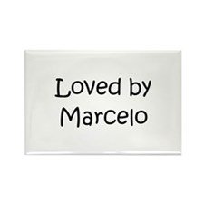 Unique Marcelo Rectangle Magnet